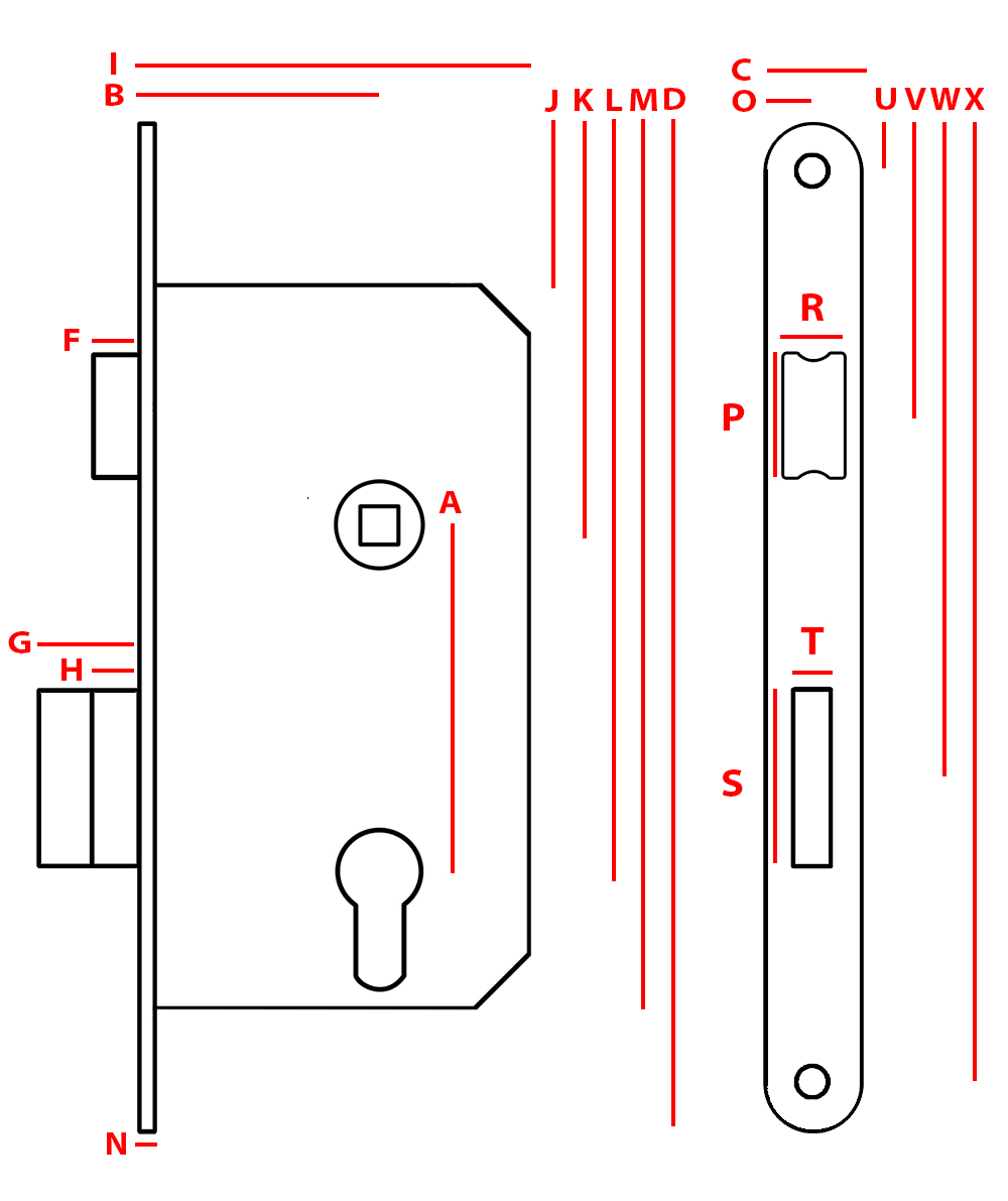 how to change the doorknow lever latch direction